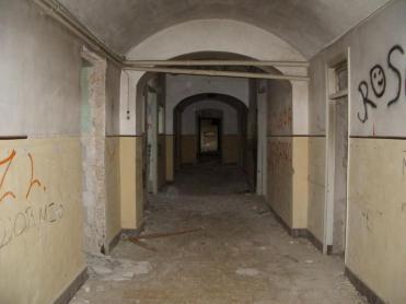 pasillos del preventorio