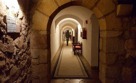 pasillos parador